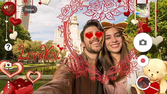 San Valentín en realidad aumentada solo con Sony Xperia