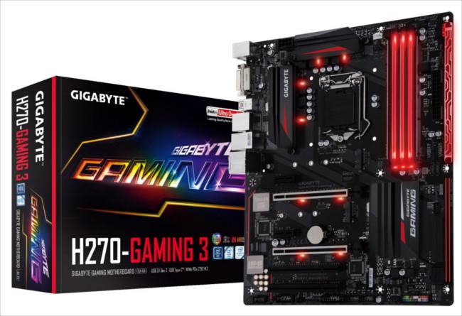 GIGABYTE Motherboards serie 200 listas para Intel Optane