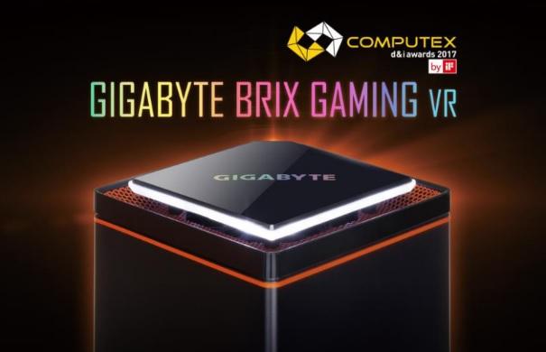 El Brix Gaming VR recibe el premio d&i de Computex 2017