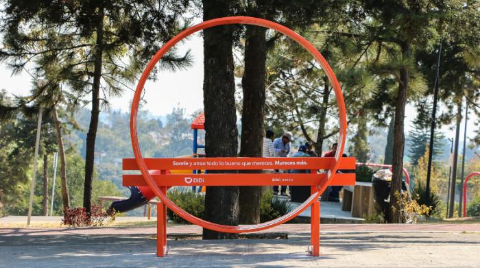 DiDi contribuye a revitalizar espacios urbanos