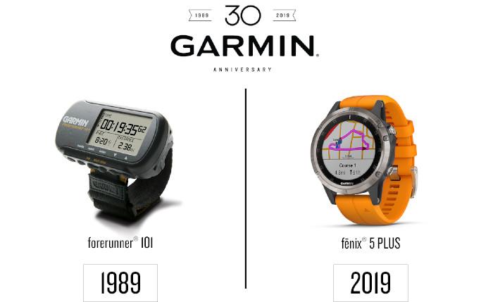 Garmin celebra 30 años innovando