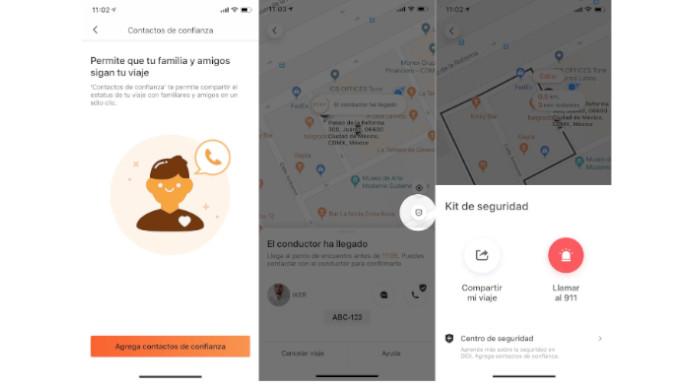 3 funciones para viajar seguro con apps de movilidad