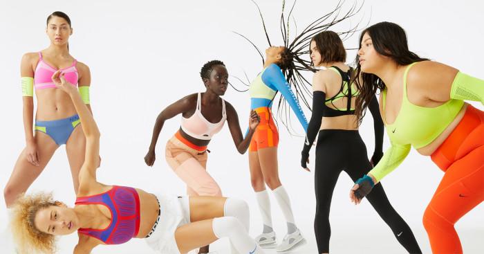 Nike celebra el bra deportivo