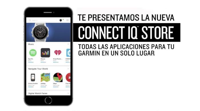Personaliza tus dispositivos con la nueva tienda Garmin Connect IQ