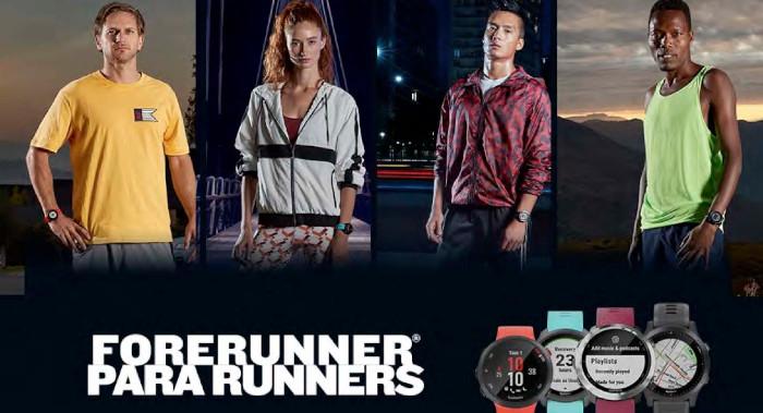 Ya en México la nueva serie Forerunner para Runners