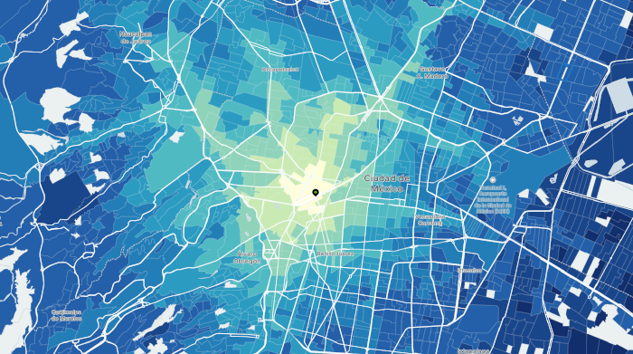 Uber Movement, la nueva herramienta para entender mejor la movilidad de la CDMX