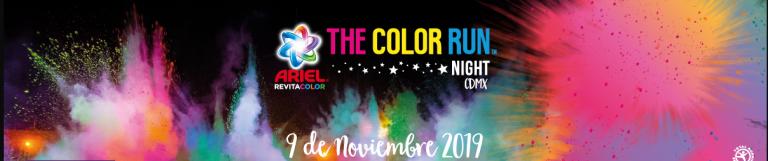 Gana una cortesía para Color Run México 2019
