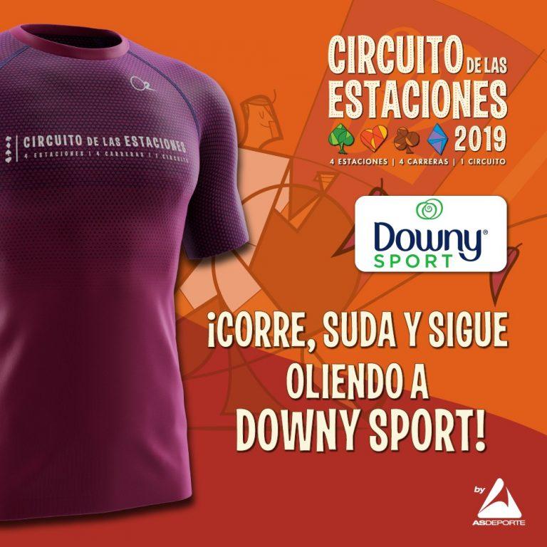 Corre el Circuito de las Estaciones con Downy Sport