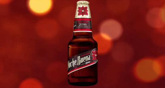 Celebremos esta temporada con la cerveza más tradicional y navideña, Noche Buena