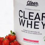 Logra tu cuerpo de verano con CLEAR Whey