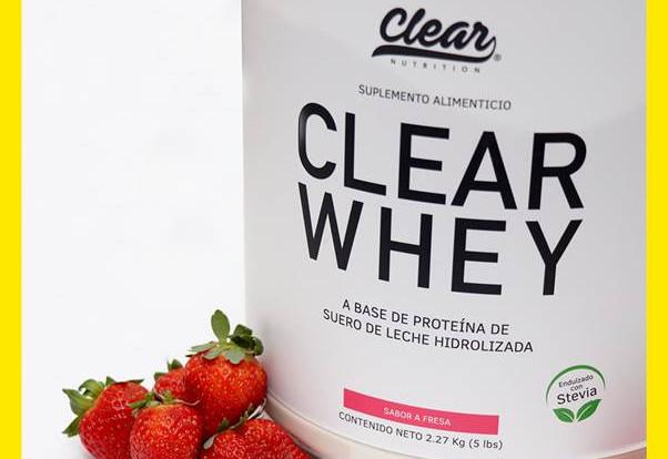 Termina tu entrenamiento con CLEAR Whey