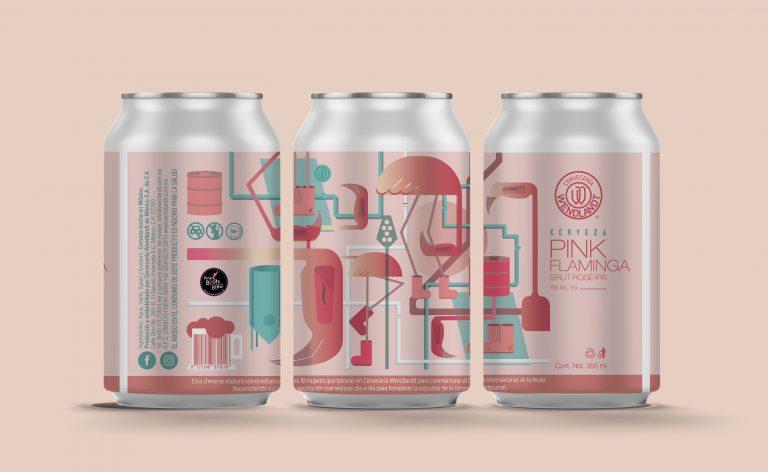 Wendlandt reconoce el papel de la mujer en la industria de la cerveza artesanal presentando Pink Flaminga