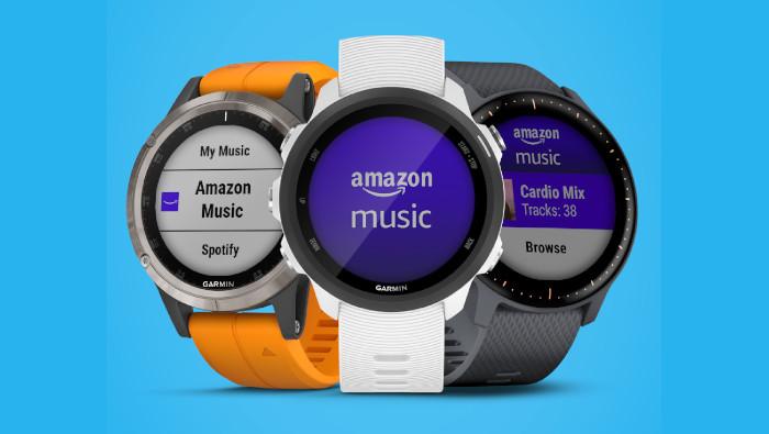 Amazon Music ya está disponible en los relojes Garmin con música