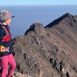 Alex Roudayna, la primera mujer en subir 3 volcanes en menos de 24 horas
