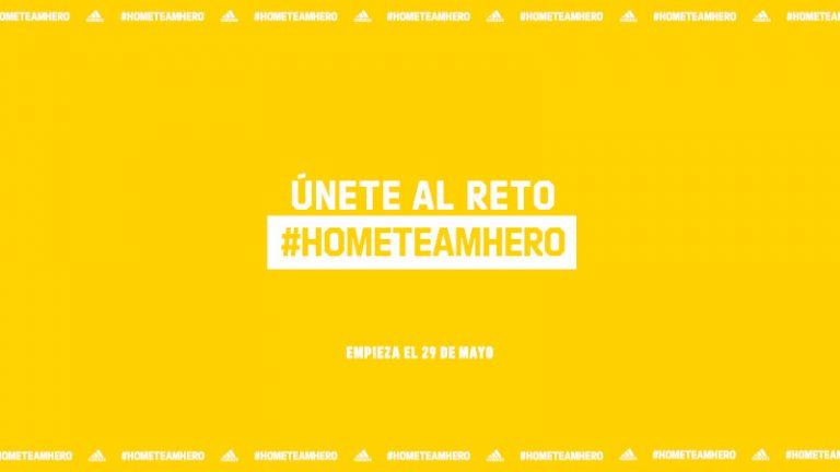 adidas lanza el #HomeTeamHero Challenge