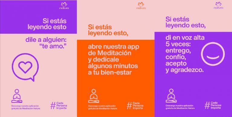 Natura lanza app gratuita de meditación