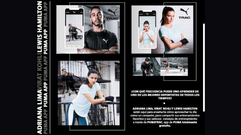 PUMATRAC: La aplicación de PUMA para entrenar en casa
