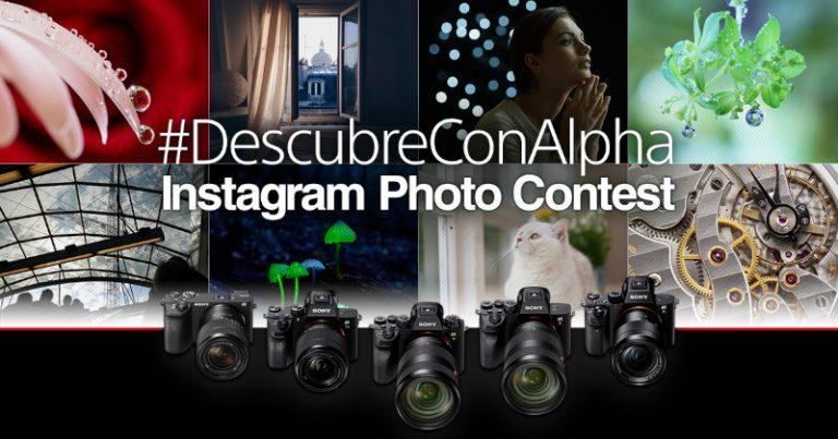 Sony te invita a participar en el concurso de fotografía en Instagram #DescubreconAlpha