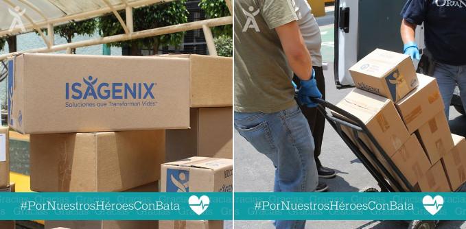 Isagenix pone en marcha producción en México  y campaña de donación #PorNuestrosHéroesConBata