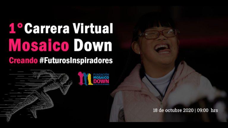 La Fundación Mosaico Down te invita a su primer carrera virtual: creando #FuturosInspiradores