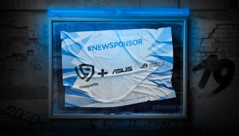 ASUS Republic of Gamers anuncia alianza con 19Esports