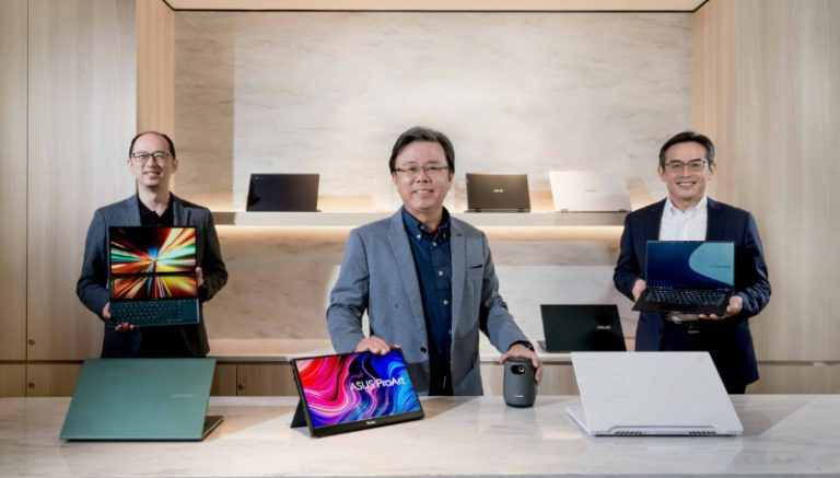 ASUS presenta nuevas laptops en evento Be Ahead en CES 2021