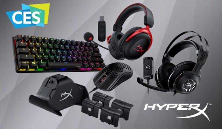 En el marco del CES 2021, HyperX presenta sus nuevos productos para Consola y PC