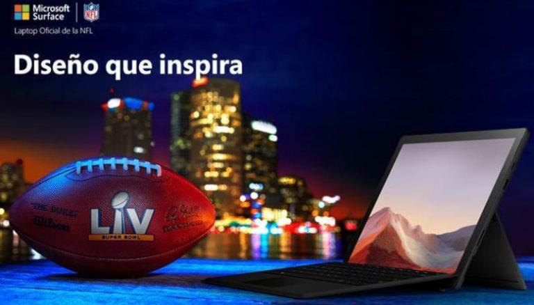 Innovación en el campo de juego de la mano de Microsoft Surface