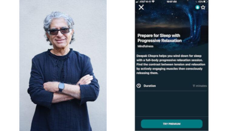 Fitbit anuncia alianza con Deepak Chopra y estrena la colección de bienestar exclusiva