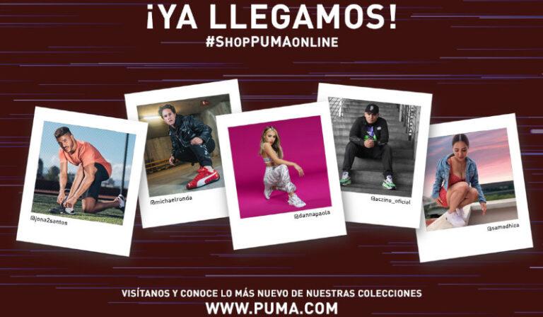 Puma ruge con su nueva e-commerce en México