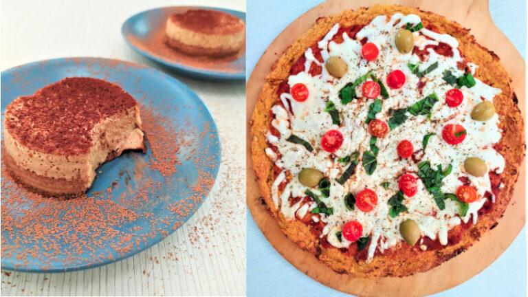 Recetas pizza zanahoria y flan cacao/ Día del Amor y la Amistad