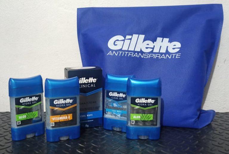 Participa y gana un Kit de Desodorantes Gillette