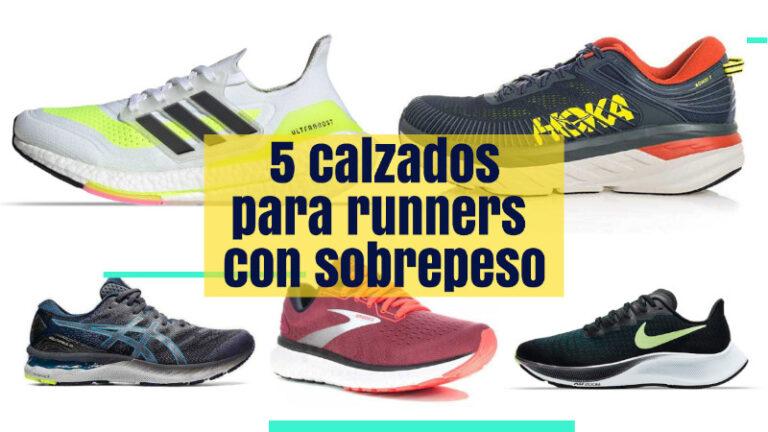 5 Calzados para runners con sobrepeso