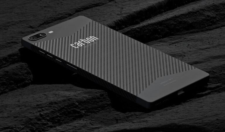 Se desarrolla en Alemania el primer teléfono inteligente de fibra de carbono del mundo