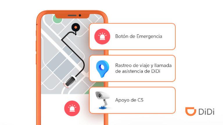 DiDi se conecta al C5 de la Secretaría de Seguridad del Estado de México