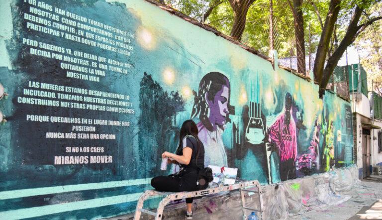 adidas presenta el cuarto mural que forma parte de Míranos Mover