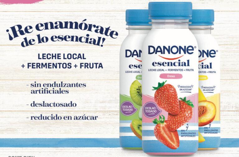 """Danone lanza """"Danone Esencial"""", la nueva generación de yoghurts bebibles"""