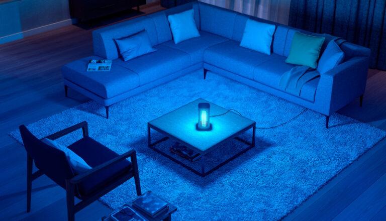 Desinfecta e inactiva los virus de tu hogar a través del poder de la luz UV-C