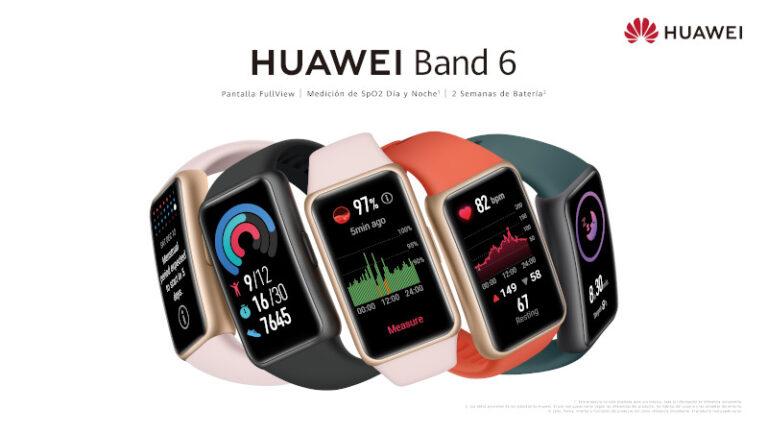 La HUAWEI Band 6 llega con pantalla FullView y batería de dos semanas de duración