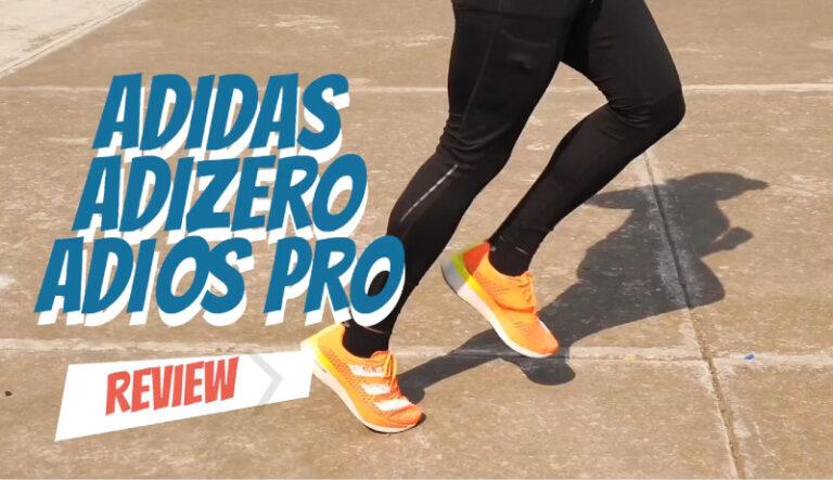 Rompe tus marcas personales con los adidas Adizero Adios Pro – Review