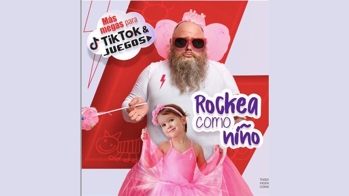 Virgin Mobile Rockea como Niño