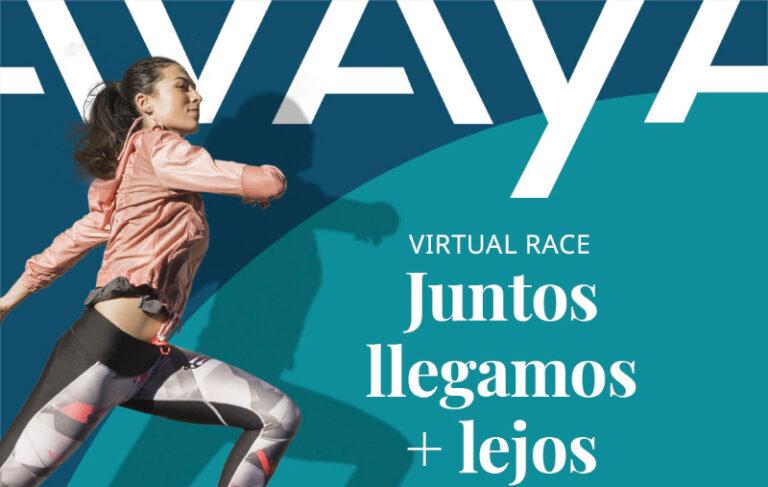 Avaya organiza carrera virtual para apoyar a AYUVI