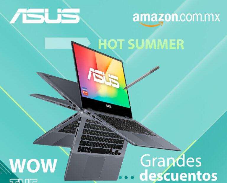 Conoce los mejores descuentos de laptops ASUS y ROG en esta temporada