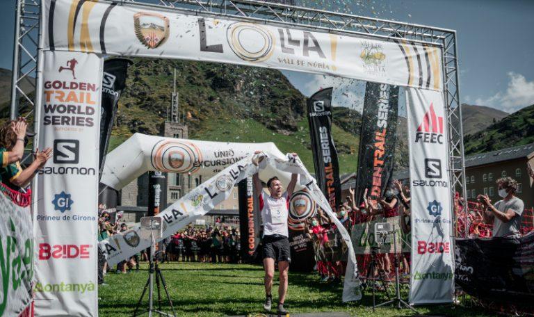 El Team Salomon arrasa en la 1a carrera de la Golden Trail World Series en La Olla de Nuria, España