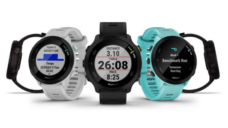 Garmin celebra el Día Mundial del Running con el lanzamiento del Forerunner 55