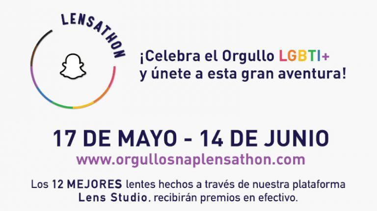 El primer Lensathon de Realidad Aumentada de Snap para conmemorar a la comunidad LGBTI+ en México y Latinoamérica