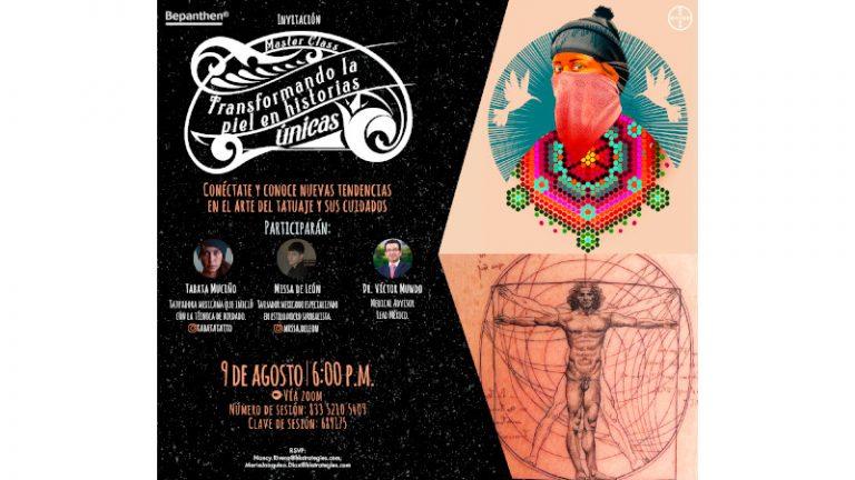 Tatuadores mexicanos ofrecerán Master Class virtual gratuita