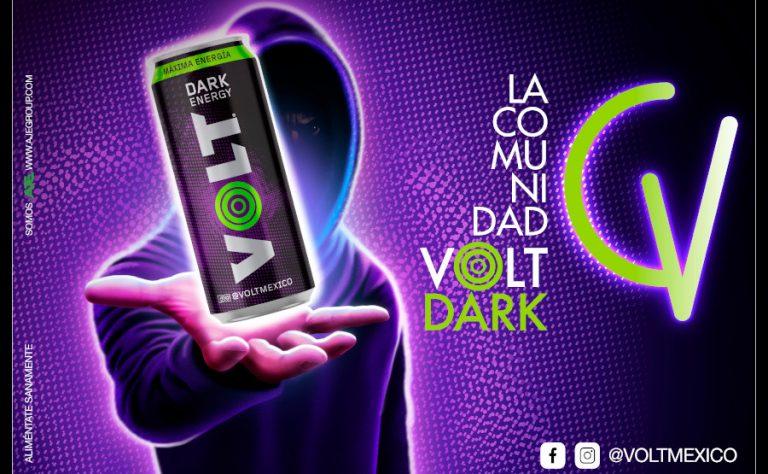 Volt Energy presenta su nueva bebida energizante Volt Dark