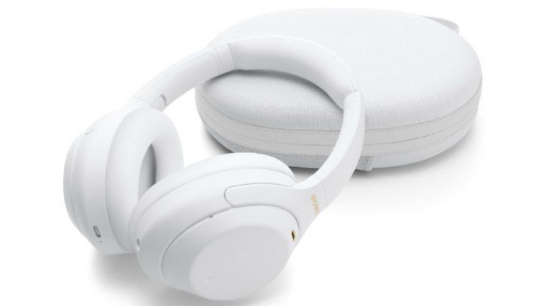Sony lanza en México la edición limitada en color blanco de los audífonos WH-1000XM4