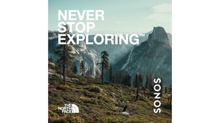 Sonos y The North Face se unen para invitarte a explorar los sonidos de la naturaleza este verano